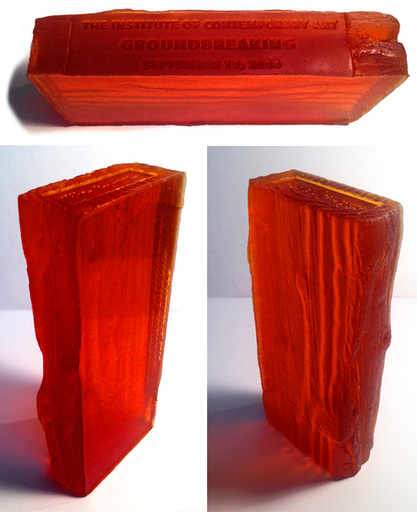 Niho Kozuru, Sand Cast Glass